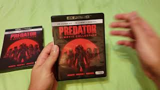 Got a day early, expect videos of all these movies by tonight. so far, predator looks amazing. no dnr, quite grainy here and there but def. great on 4k...