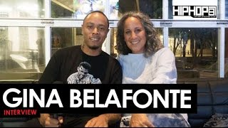 Gina Belafonte Talks Her Father Harry Belafonte, Many Rivers Festival, Sankofa.org & More (HHS1987)