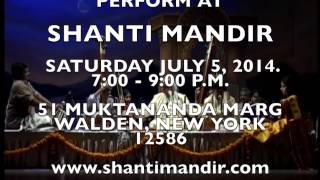 Invitation to Pandit Jasraj Concert at Shanti Mandir