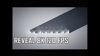 Xbox Project Scarlett 8K 120 FPS E3 2019 Reveal