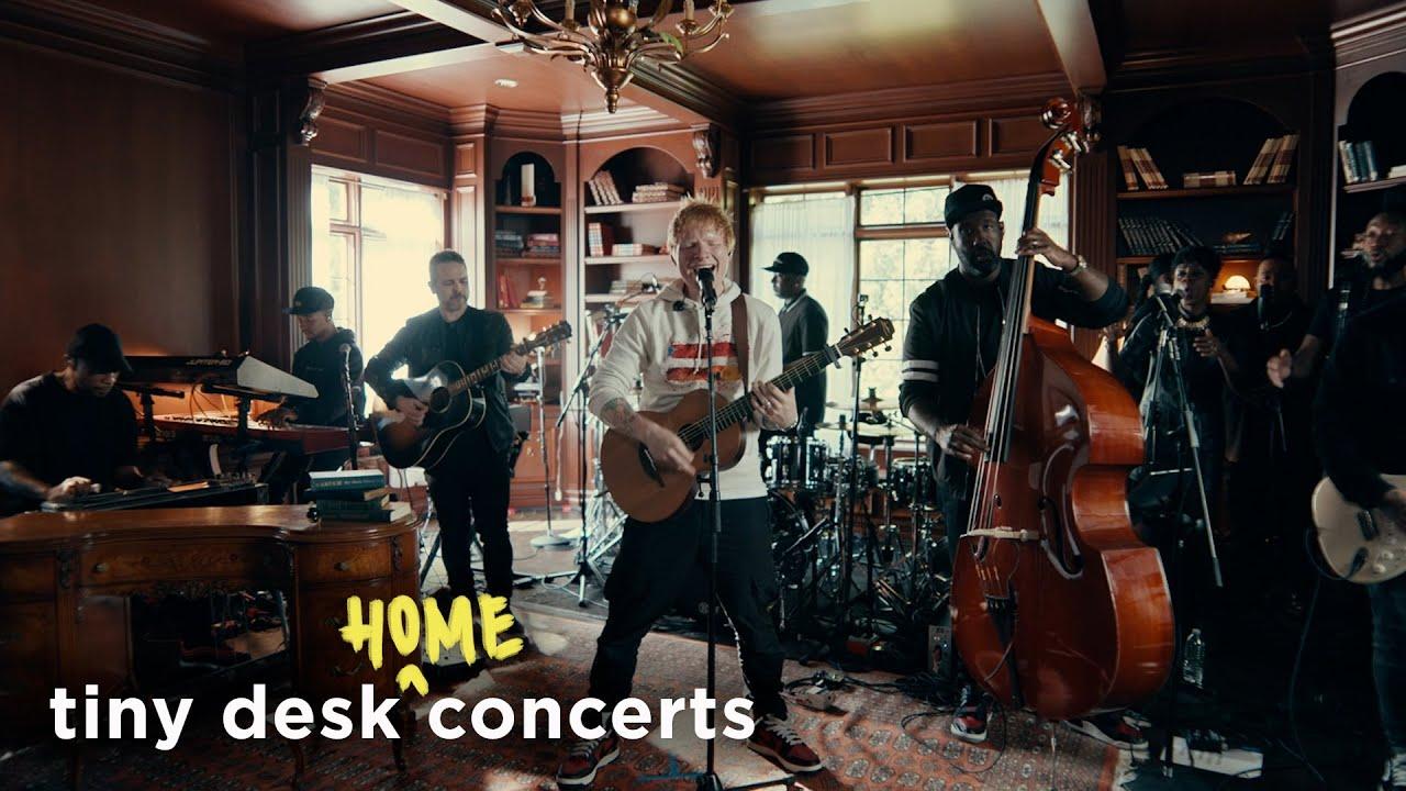 Ed Sheeran: Tiny Desk (Home) Concert