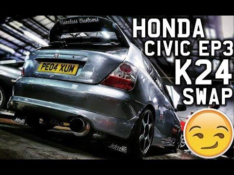HONDA CIVIC EP3 TYPE-R K24 SWAP *MENTAL*