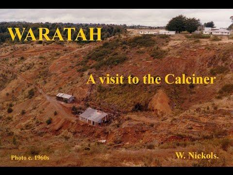 Waratah  Calciner visit 2015