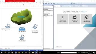 How to Create a Network on VMware Workstation 14 pro