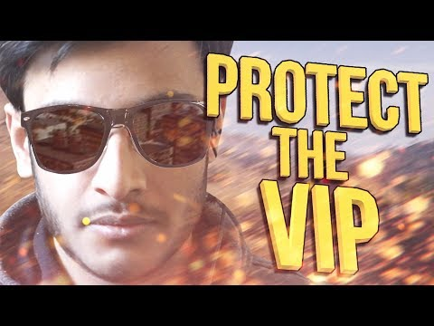 PROTECT THE VIP | PUBG INDIA | RAWKNEE