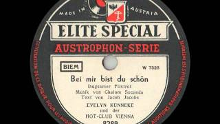 Austrian Swing 1949 Evelyn Künneke - BEI MIR BIST DU SCHÖN