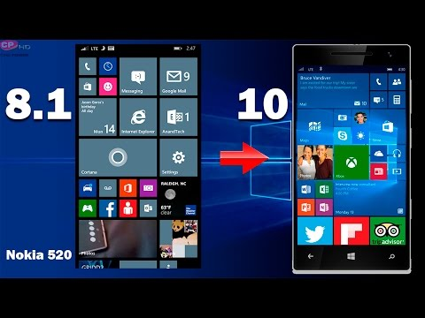 Como actualizar nokia lumia 520 a windows 10 mobile (Oficial) //Parte1