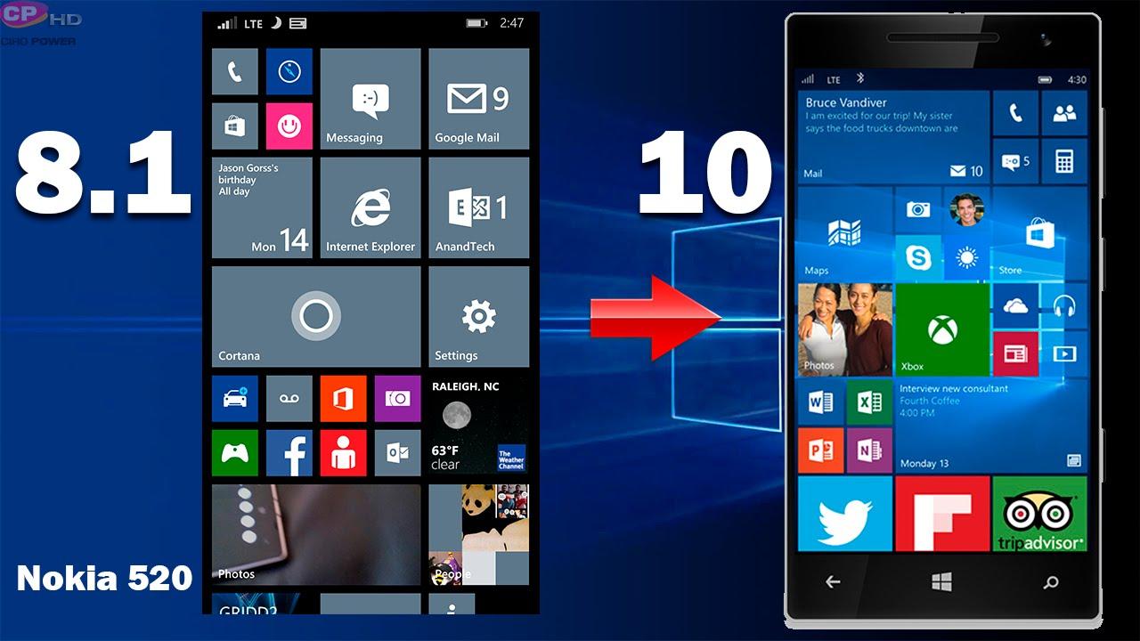 Como actualizar nokia lumia 520 a windows 10 mobile oficial youtube premium ccuart Image collections