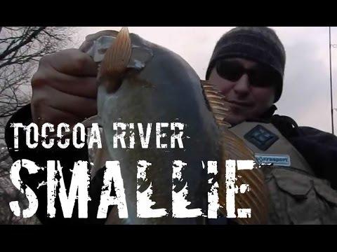 Toccoa River Kayak Fishing