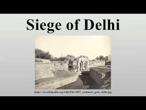 Siege of Delhi