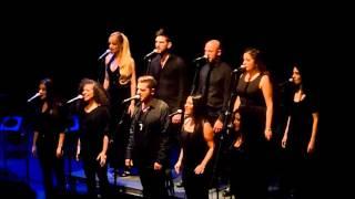 "Black Light Gospel Choir - ""Stairway to heaven"" [HD] (Parla 22-11-2015)"