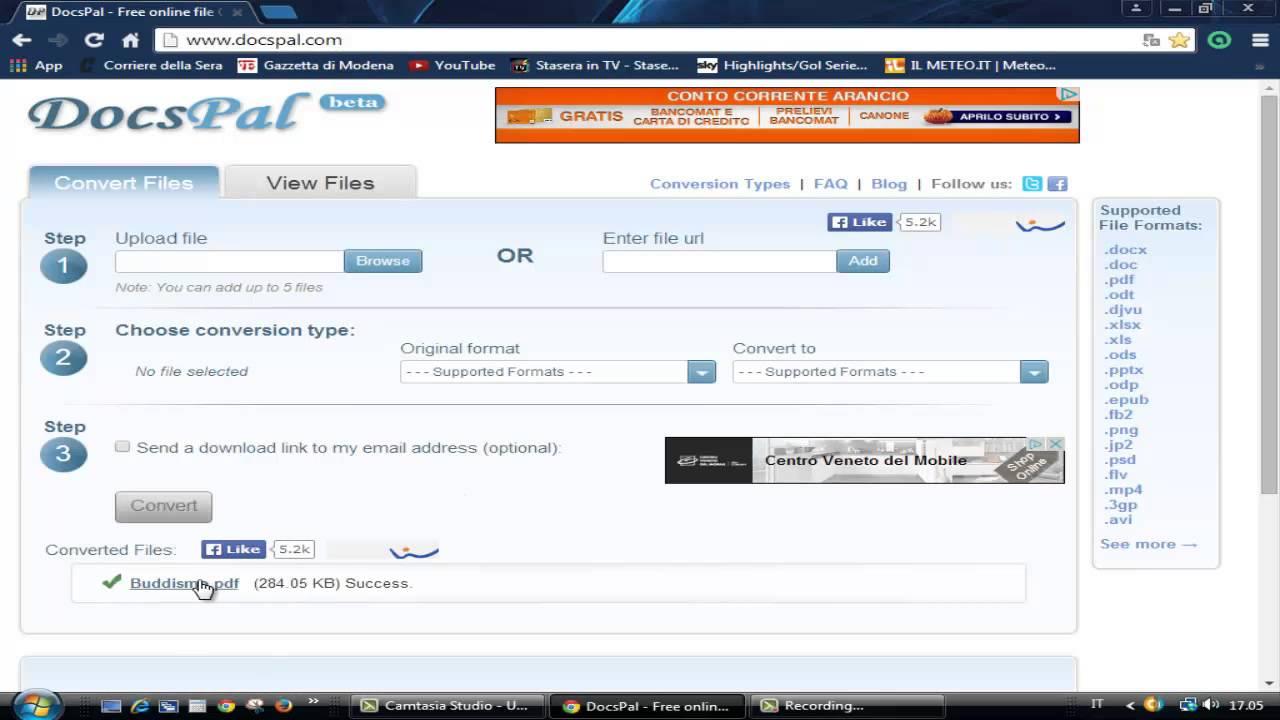 Convertire ODT in file Word - ChimeraRevo