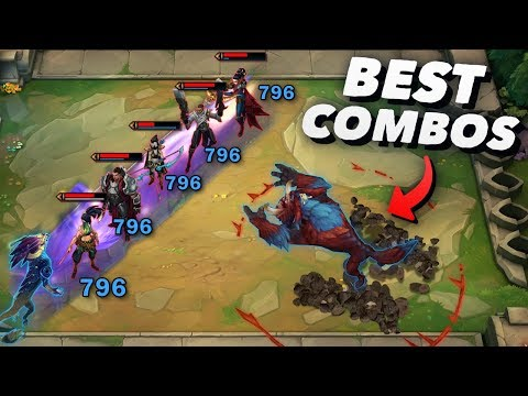 REALLY SATISFYING TFT COMBOS | Epic & Funny Moments #2 - Teamfight Tactics