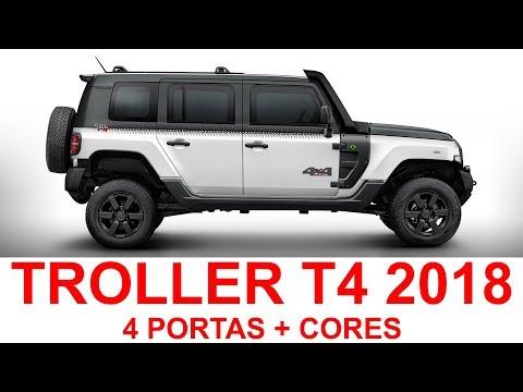 Troller T4 4 Portas 2018 + CORES
