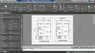 كيف نفعل إعداد الصفحة في التخطيط في أوتوكاد