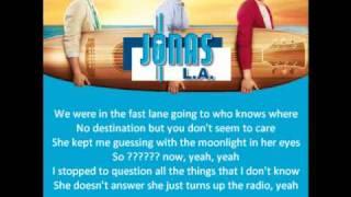 [3.43 MB] Jonas Brothers - Drive (Lyrics)
