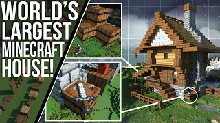 This INSANE New Minecraft House is ENORMOUSLY EPIC!