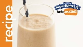 Peanut Butter, Apple & Oat Smoothie Recipe