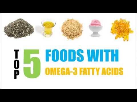 Top 5 Omega-3 Fatty Acids Natural Foods