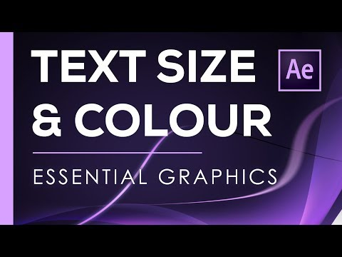 After effects expression change text color