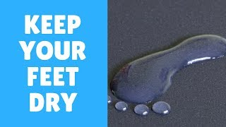 Foot Fungus Treatment : Keeping Your Feet Dry