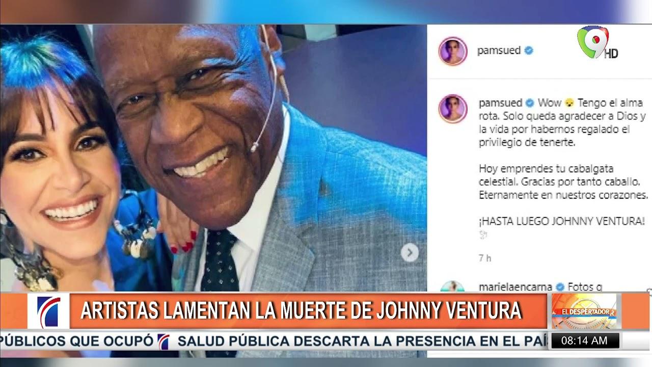 Muere la Leyenda Johnny Ventura | EL Despertador SIN