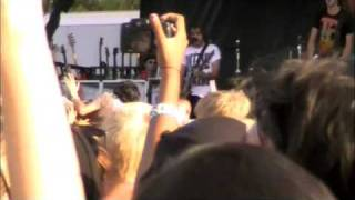 All Time Low - Talking & Dear Maria Count Me In LIVE SD Warped 09 (HQ)
