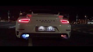 900BHP Porsche 991 TurboS FLAMES & BANGS!