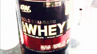 Optimum Nutrition Vanilla Ice Cream ON Gold Standard Protein Review