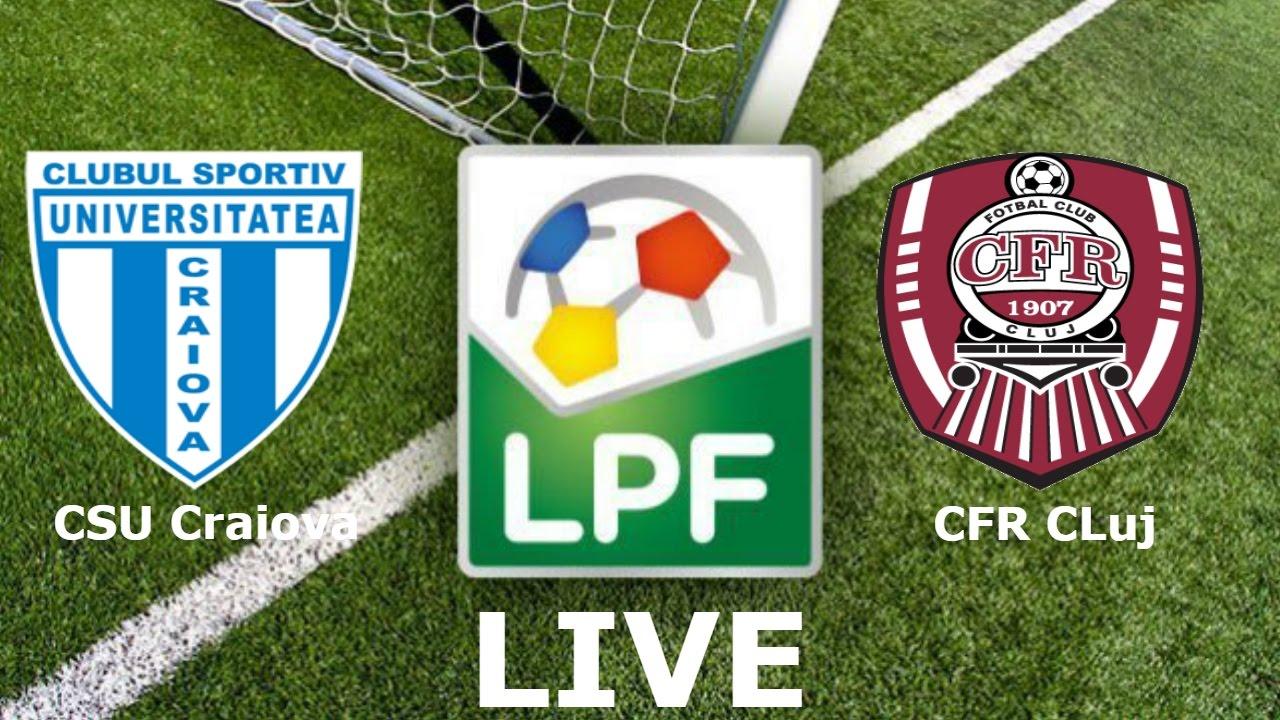 CFR Cluj vs CS U Craiova - YouTube   Cs U Craiova-cfr Cluj