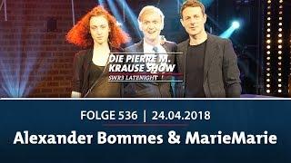 Die Pierre M. Krause Show vom 24.04.2018 mit Alexander Bommes & MarieMarie