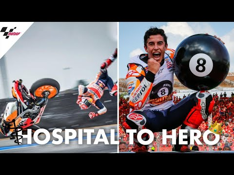 Hospital to hero: Marquez' dramatic title winning weekend