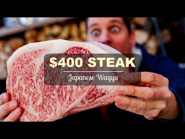 $400 Japanese Wagyu Steak