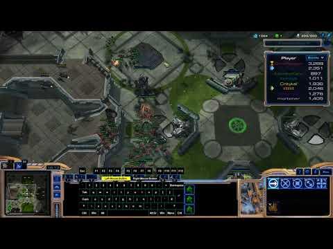 4x Collo madness with Excal - Marine Arena Public - StarCraft II Arcade