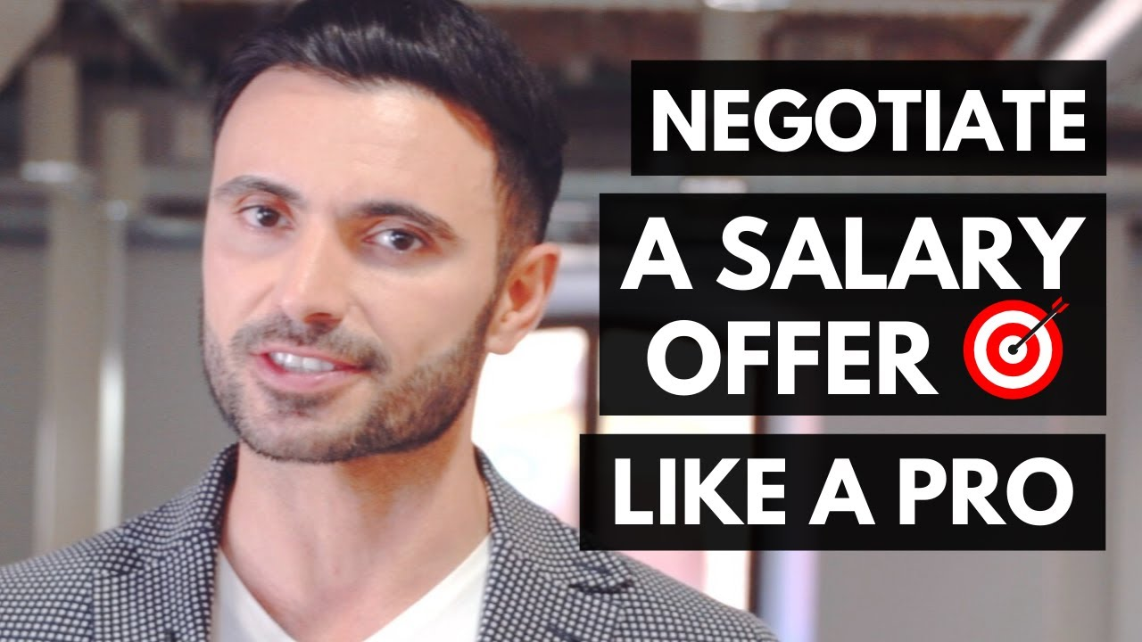 how to negotiate a salary during the job offer how to negotiate a salary during the job offer