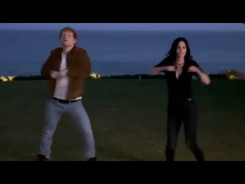 Ed-Sheeran-and-Courteney-Cox-Dancing-Friends-Reunion-🕺💃🤣🤣