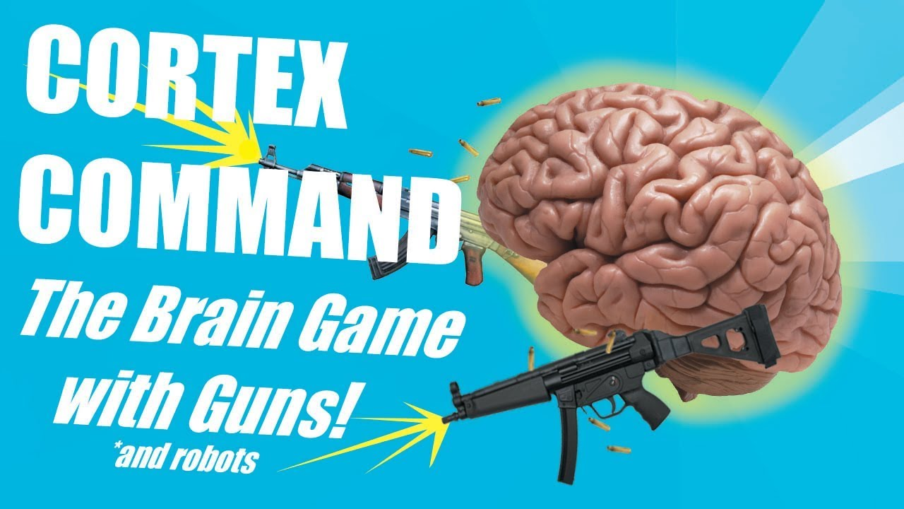 CORTEX COMMAND - The Brain Game with Guns - YouTube