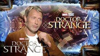 Mads Mikkelsen on Marvel Studios' Doctor Strange