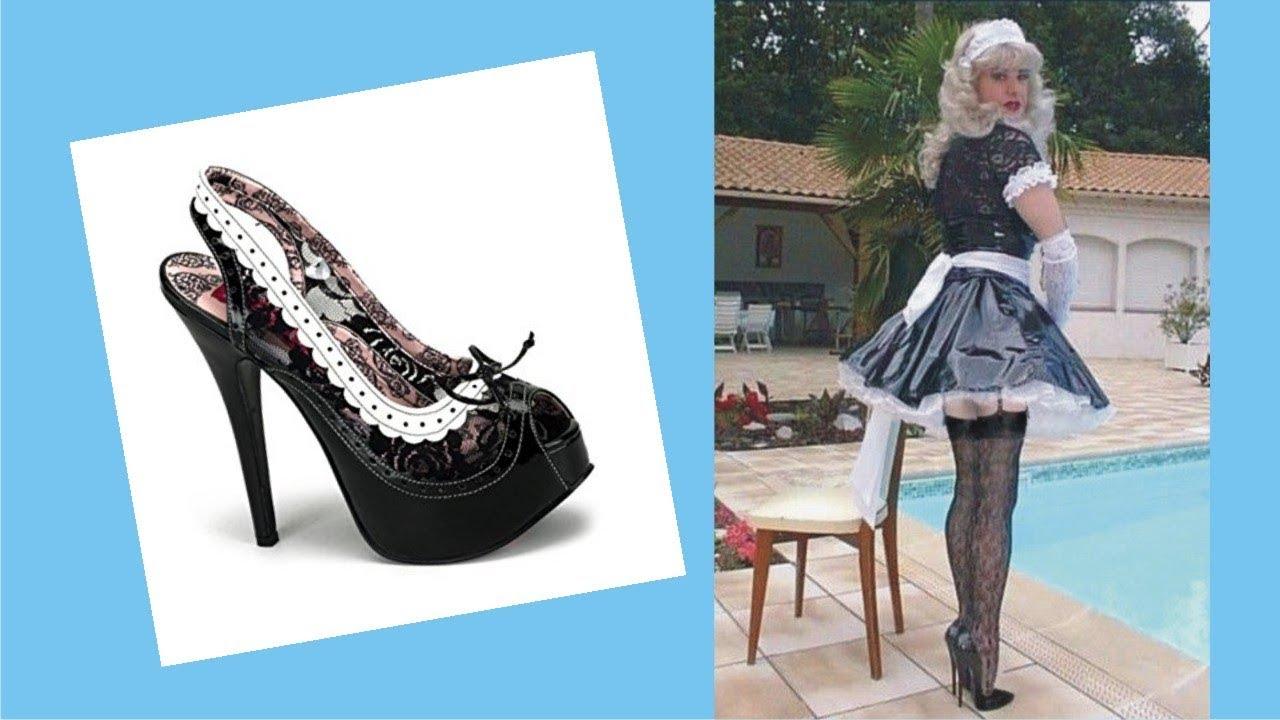 maid high heels