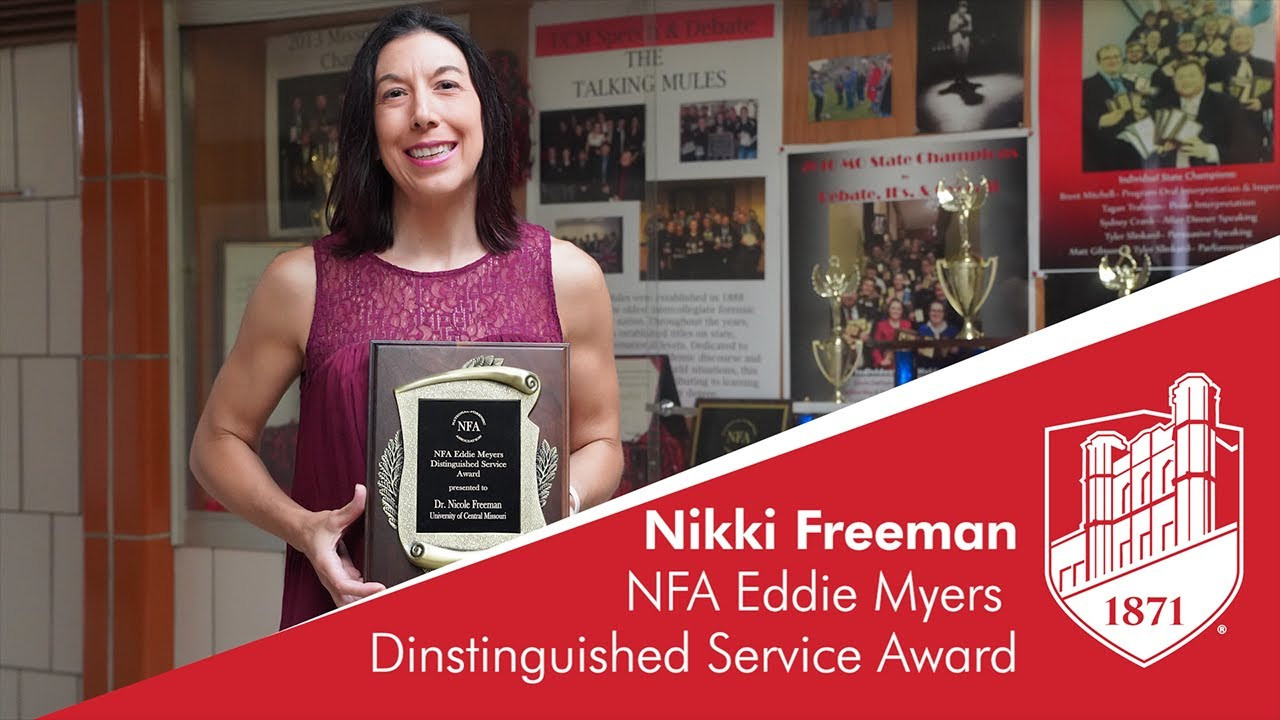 Freeman Wins NFA Myers Award