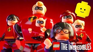 THE INCREDIBLES 2 LEGO Complete Cartoon Game Videos for Kids - Superhero Video Games for Children