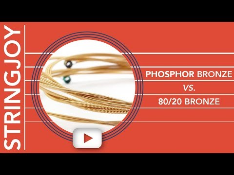 Phosphor Bronze vs 80/20 Bronze Acoustic Guitar Strings