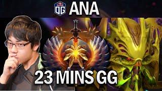 OG.ANA VENOMANCER - 23 MÏNS GG- DOTA 2 7.27 GAMEPLAY