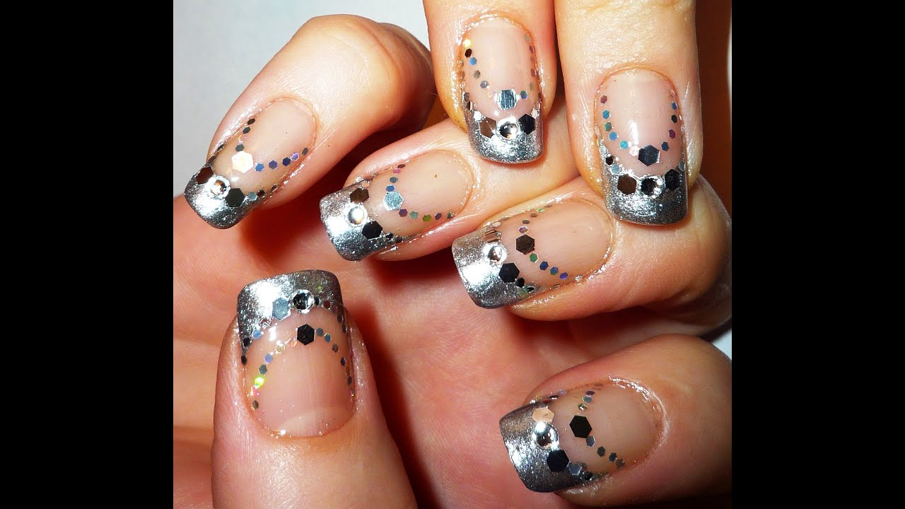Elegant new years nail art design 2012 youtube prinsesfo Image collections