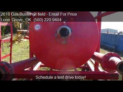 2010 Gas Buster oil field  for sale in Lone Grove, OK 73443