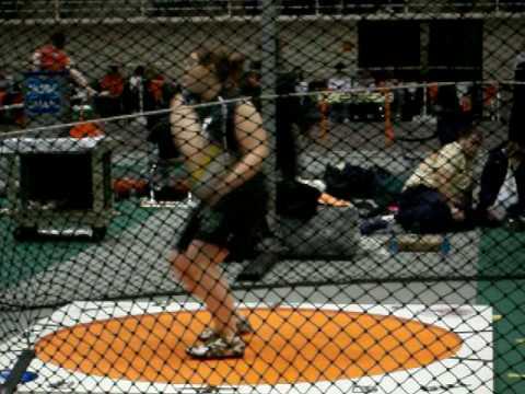Alyssa McMullen Weight Throw #2 ONU 2/27/09