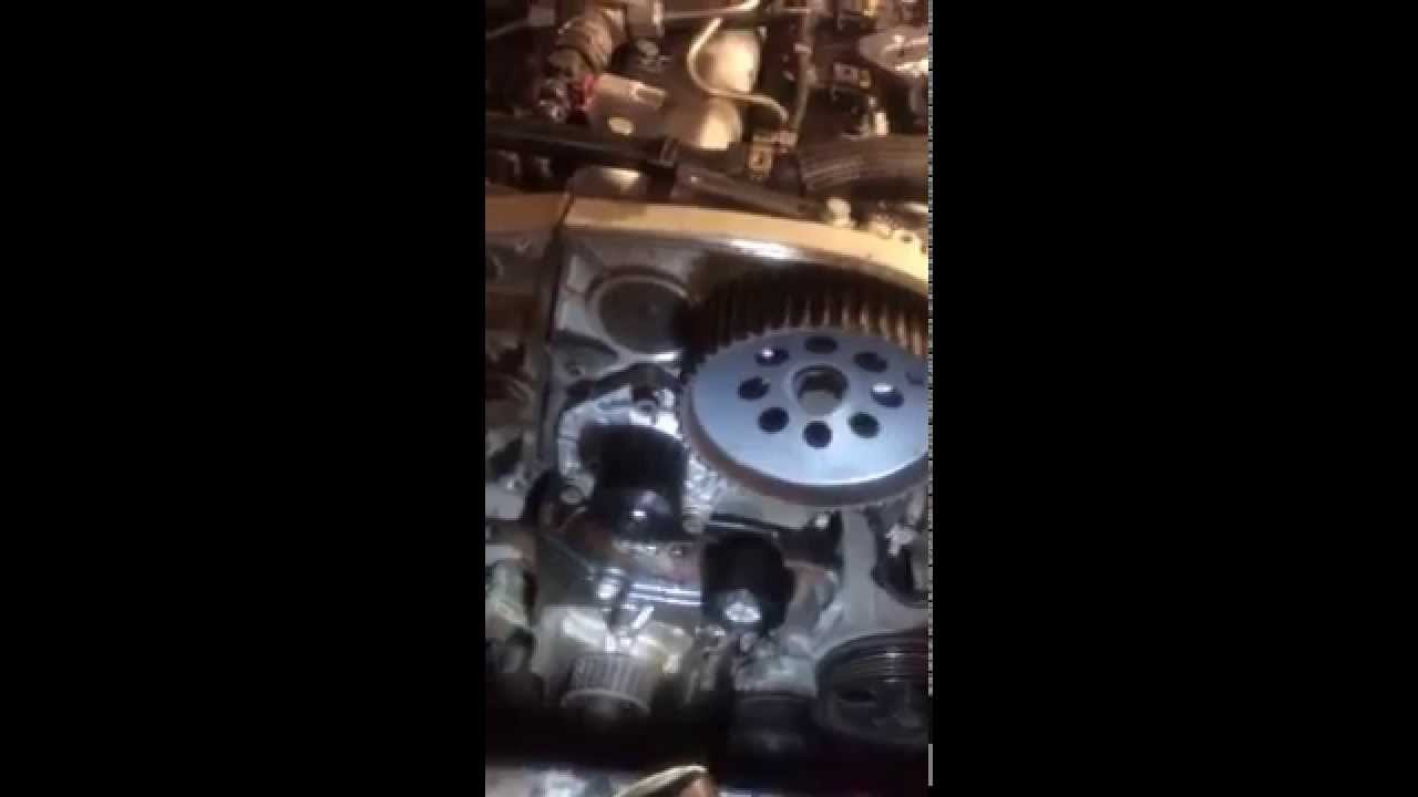 Vauxhall Insignia 2011 Timing Belt Change Youtube Opel