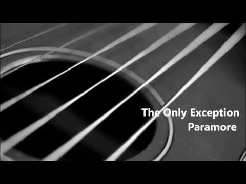 The Only Exception Karaoke (Piano Accompaniment)