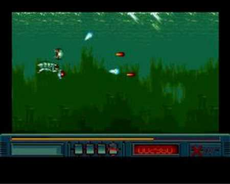 X-Out (Amiga) Gameplay Stage 1 with Remixed Music