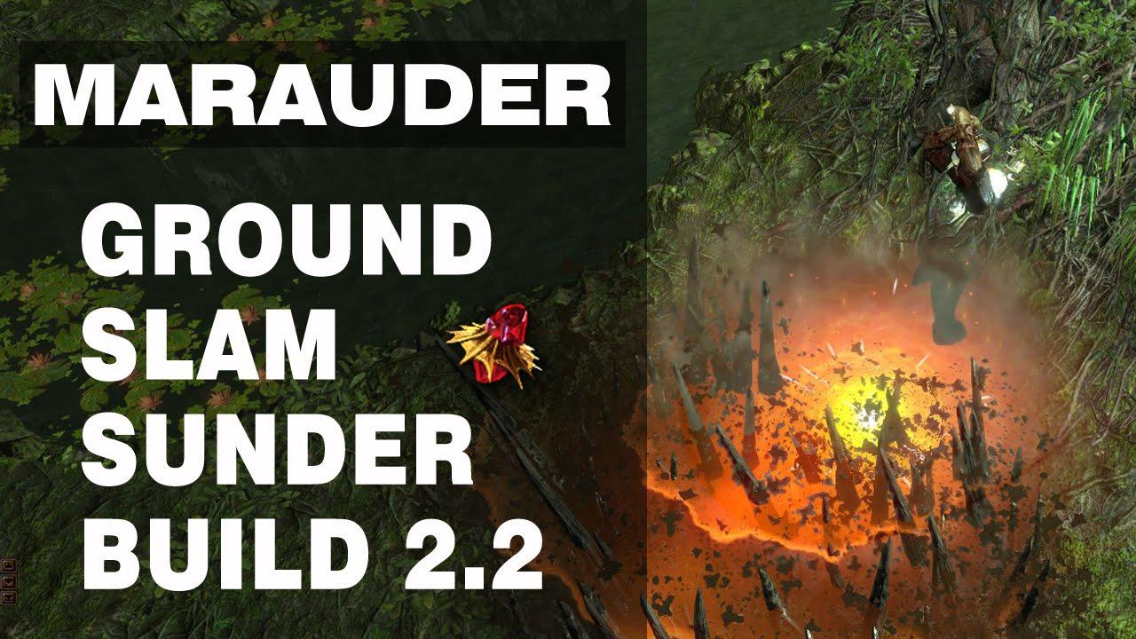 Sunder Marauder Build